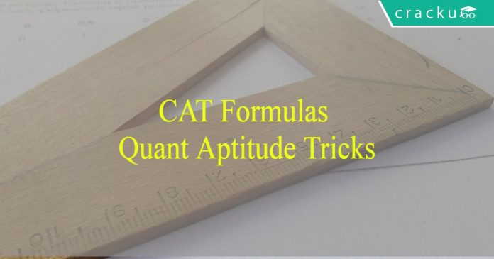 CAT Quantitative Aptitude formulas PDF