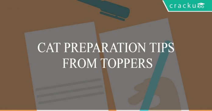 CAT preparation tips from toppers