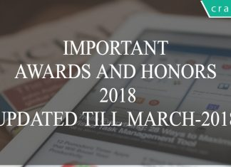 important awards and honors pdf
