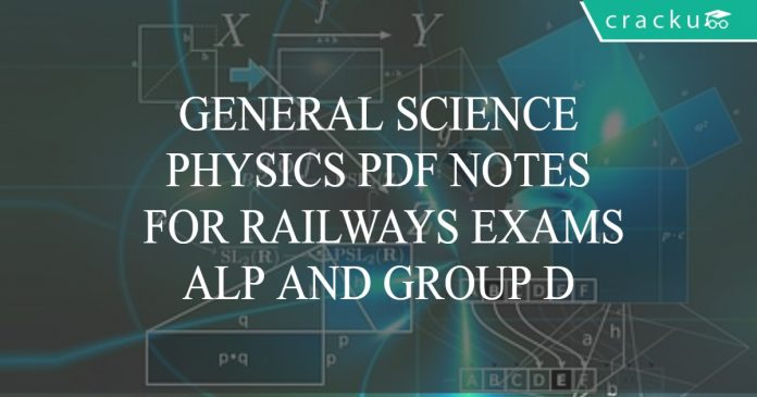 general science- physics pdf notes