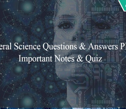 General Science Questions and Answers PDF - Railway notes - Quiz - mcqs