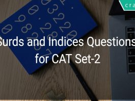 Surds and Indices Questions for CAT Set-2