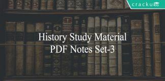 history study material set-3