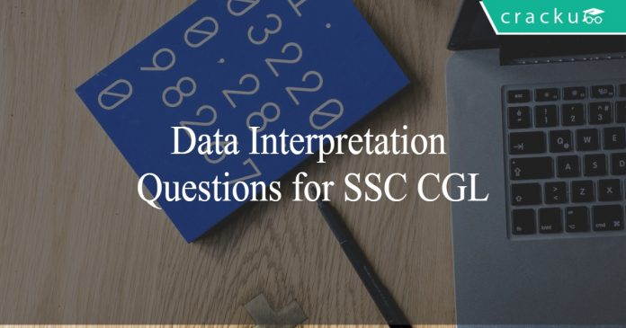 Data Interpretation Questions for SSC CGL