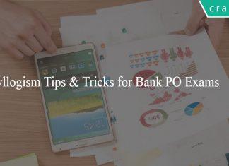 Syllogism Tricks for Bank Po exams