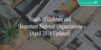 heads of organizations