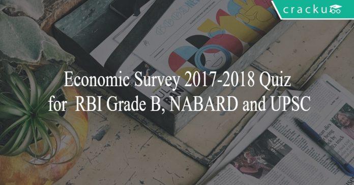economic survey quiz 2017 18