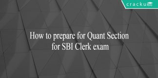 How to prepare for quantitative aptitude for SBI Clerk exam