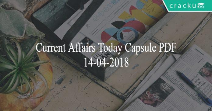 ca capsule pdf 14-04-2018