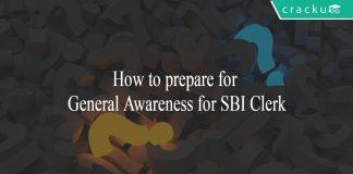 How to prepare for General Awareness for SBI Clerk