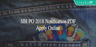 SBI PO 2018 Notification PDF
