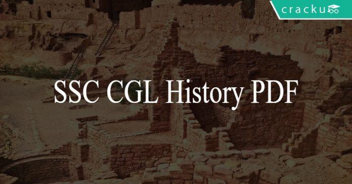 SSC CGL History PDF