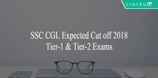 SSC CGL Expected Cut off 2018