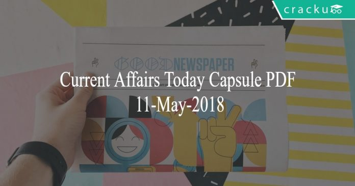 current affairs 11-may-2018