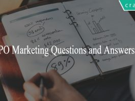 SBI PO Marketing Questions and Answers PDF