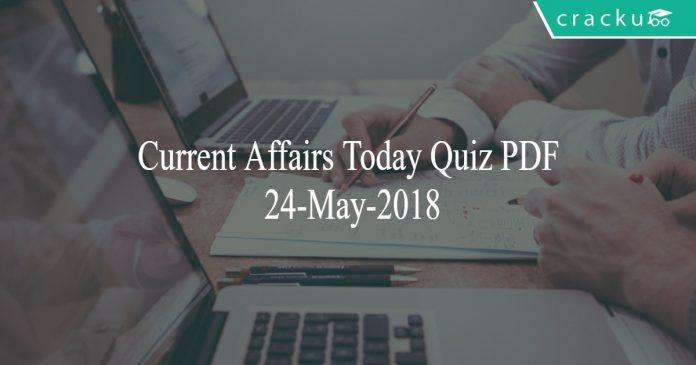 ca today quiz 24-may-2018