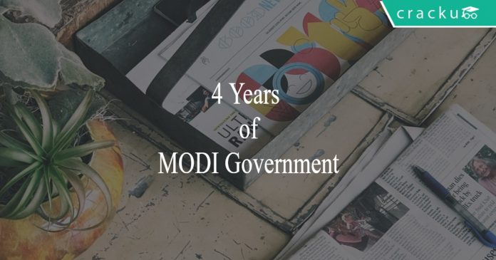 4 years of modi government