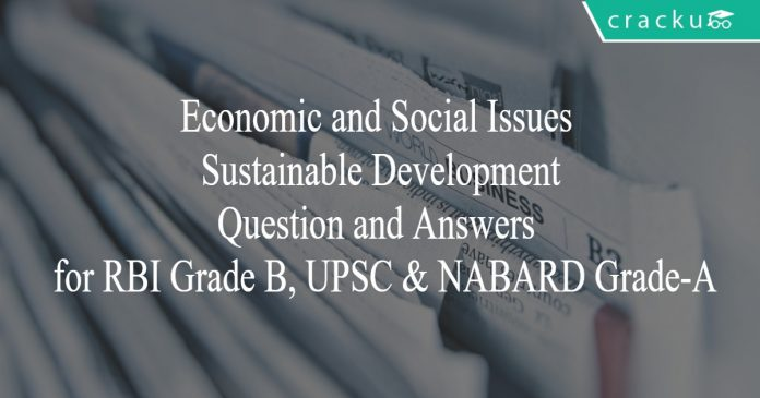 esi - sustainable development