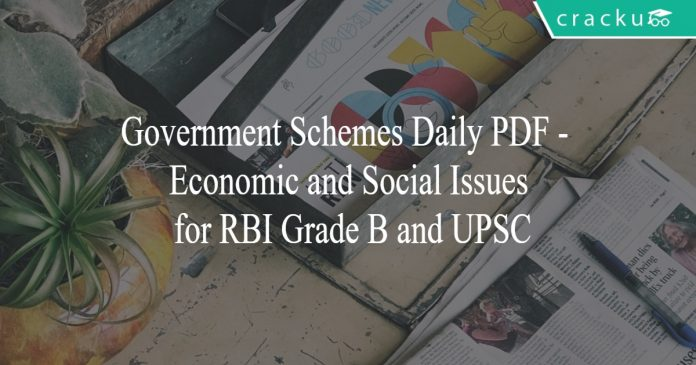 government schemes daily pdf