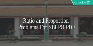 ratio and proportion problems for sbi po pdf