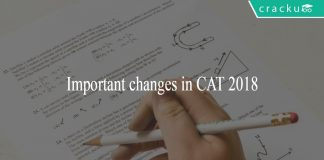 Important changes in CAT 2018