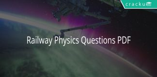 Railway Physics Questions PDF