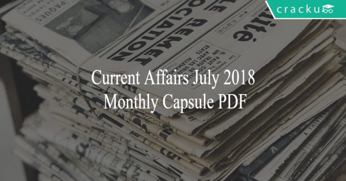 july 2018 monthly