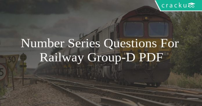 Number Series Questions For Railway Group-D PDF