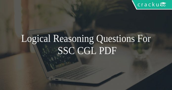 Logical Reasoning Questions For SSC CGL PDF
