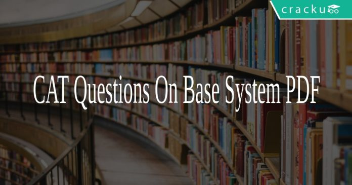 CAT Questions On Base System PDF
