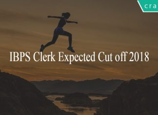 IBPS Clerk expected cut off 2018