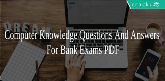 Computer Knowledge Questions And Answers For Bank Exams PDF