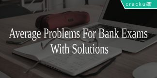 Average Problems For Bank Exams With Solutions
