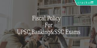 Fiscal Policy\n For\nUPSC,Banking&SSC Exams