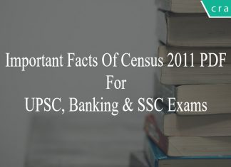 Important Facts Of Census 2011 PDF