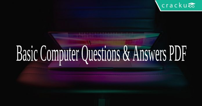 Basic Computer Questions & Answers PDF