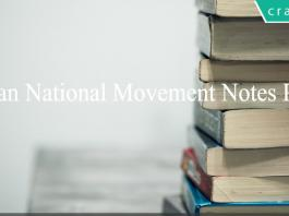 Indian National Movement Notes PDF