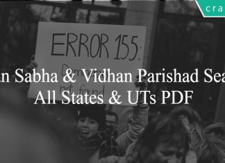 Vidhan Sabha & Vidhan Parishad Seats Of All States & UTs PDF
