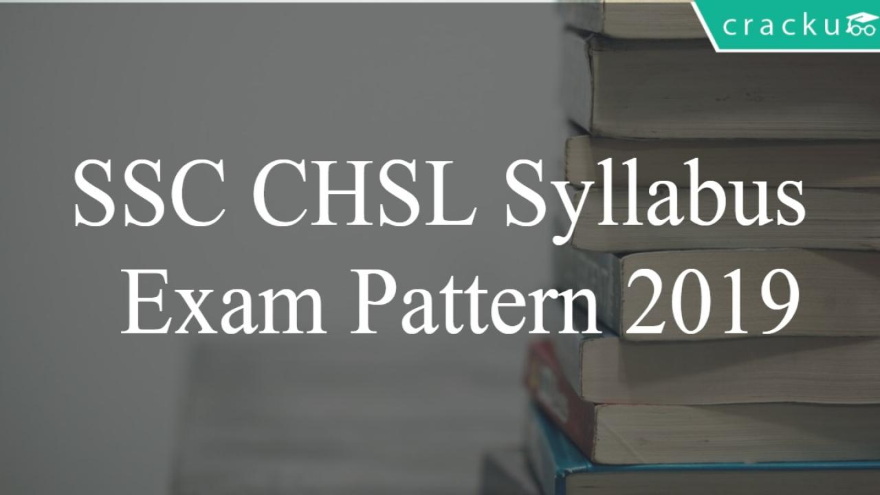 SSC CHSL Syllabus 2019 PDF Download - SSC 10+2 Tier-1 Exam
