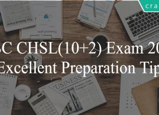 SSC CHSL 10+2 Preparation Tips - How to prepare SSC CHSL 2019