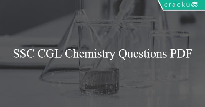 SSC CGL Chemistry Questions PDF