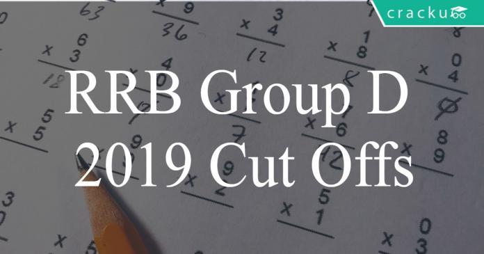 RRB Group D 2018-19 Cut Offs