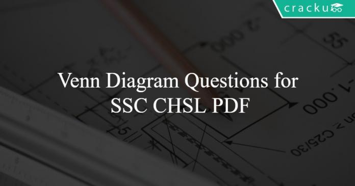 Venn Diagram Questions for SSC CHSL PDF