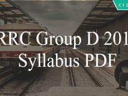 Railways Groud D syllabus PDF