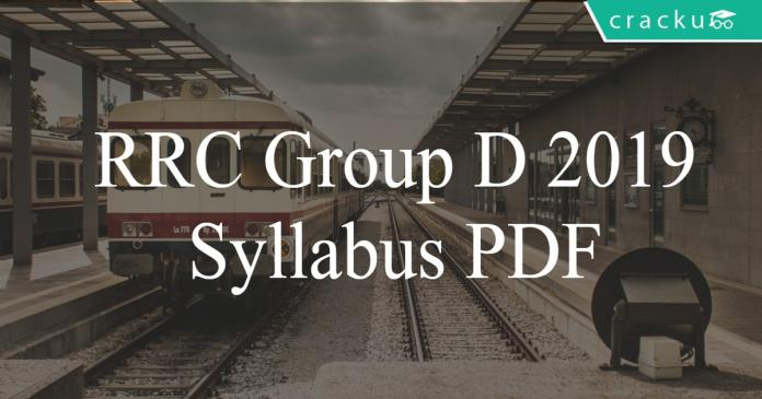 Railways Groud D syllabus PDF