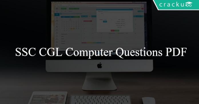 SSC CGL Computer Questions PDF