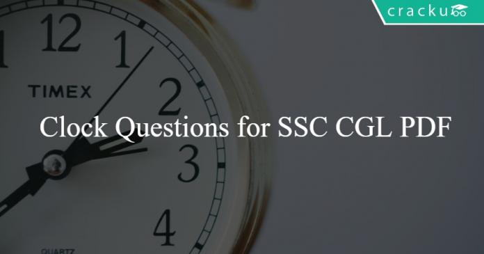 SSC Questions on Clock
