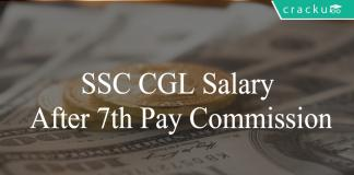 ssc cgl salary after 7th pay