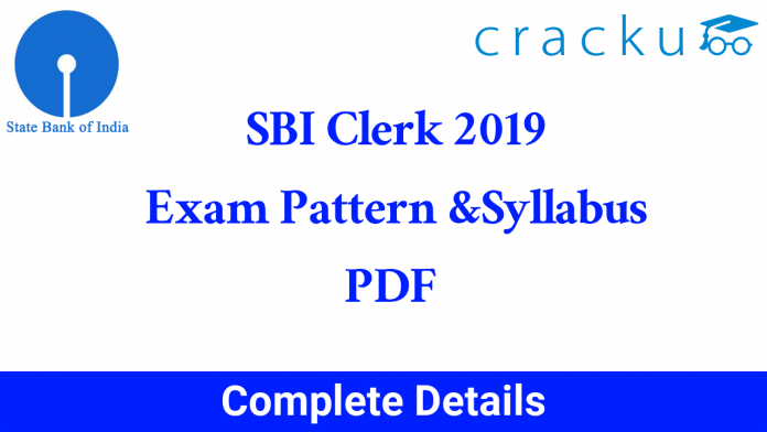 sbi clerk 2019 syllabus pdf