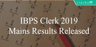 IBPS Clerk 2018-19 results